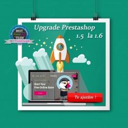 Actualización de PrestaShop para 1.5 a PrestaShop 1.6
