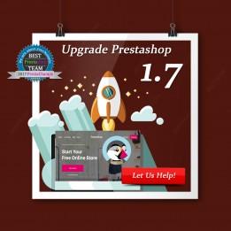 Actualización de PrestaShop a 1.7