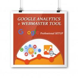 Configuration Google Webmaster et Google Analytics