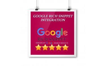 Google Rich Snippet Integration