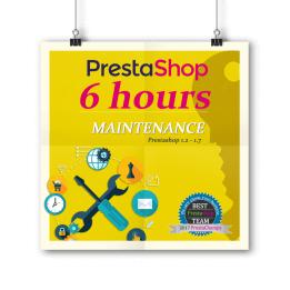 PrestaShop Maintenance - paquet de 6 heures