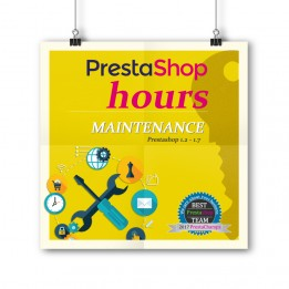 PrestaShop Maintenance - 3 hour package